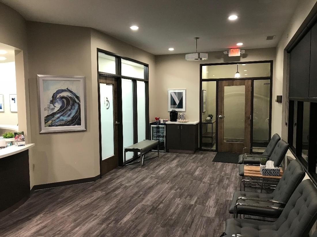 Office Reception. Dunwell Dentistry Exam Room